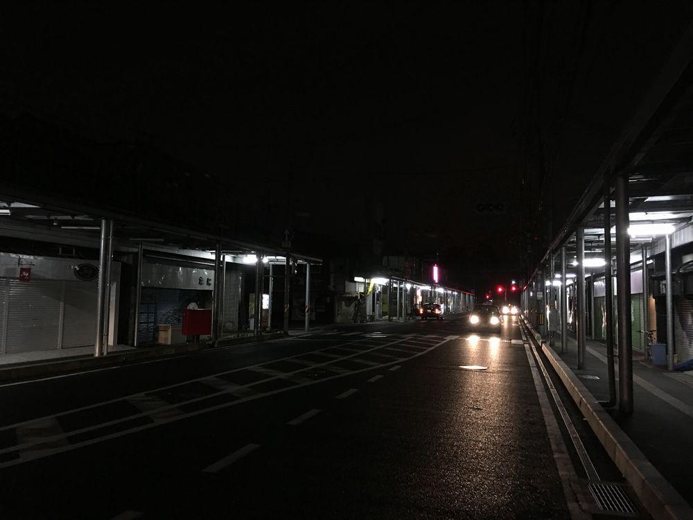 深夜1時の伊勢宮町