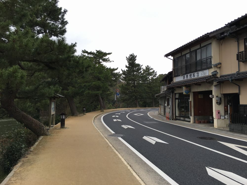 松江の武家屋敷通り