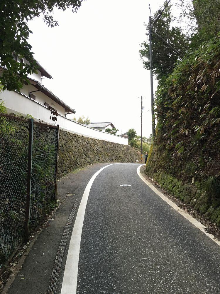 松江の赤山の頂上