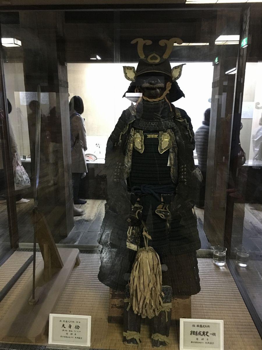後藤又兵衛の大身槍と具足