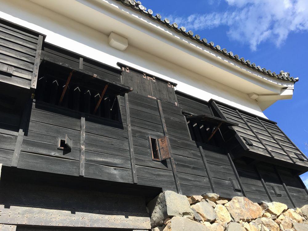 松江城の付櫓