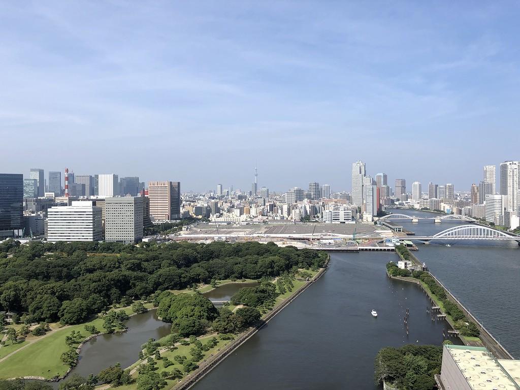 メズム東京から隅田川