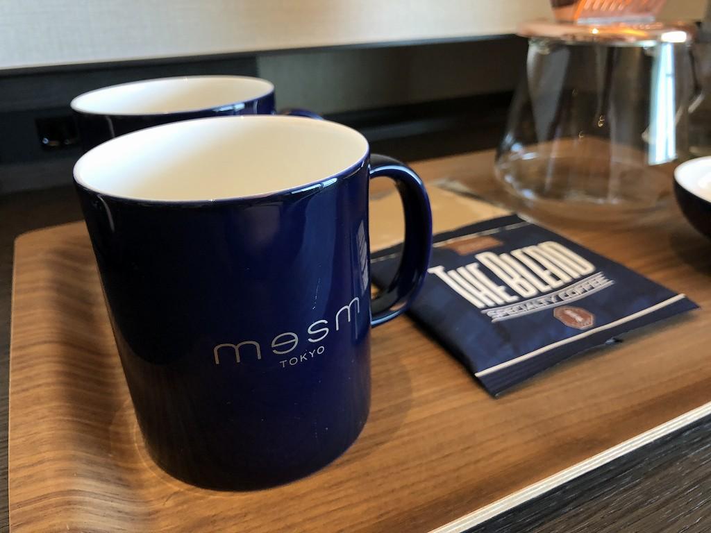 メズム東京のコーヒーカップ