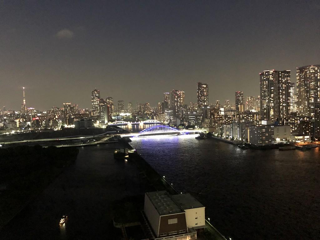 メズム東京からの夜景1