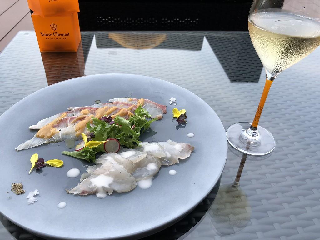 SUDレストラン/TERAOKAのカルパッチョ