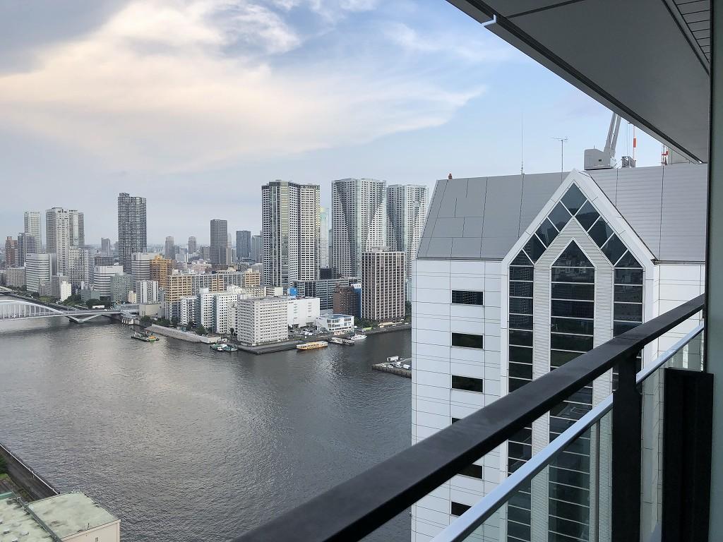 メズム東京のチャプター2、ガーデンビュールームからの眺め3