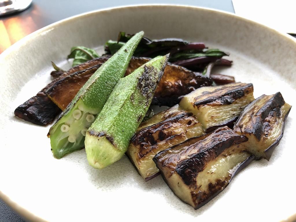 銀座みやちく竹芝店の焼き野菜
