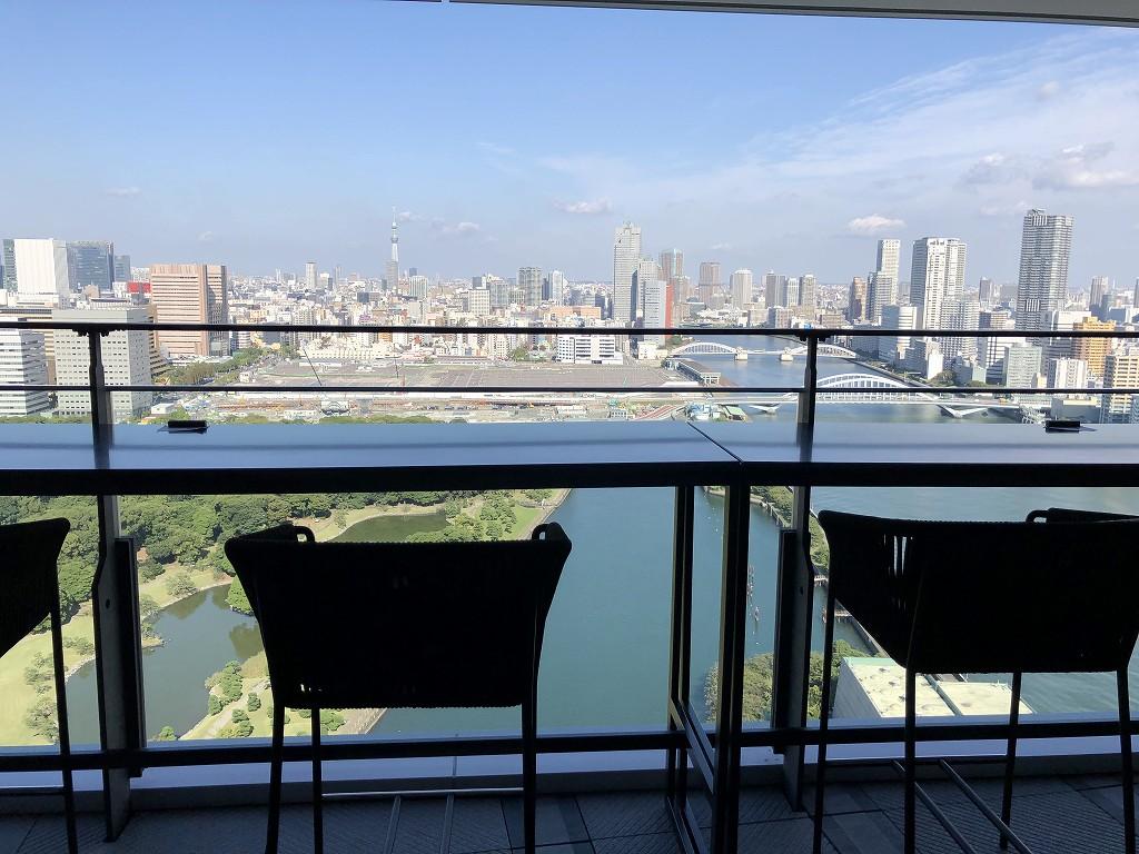 メズム東京「club mesm」からの眺め2