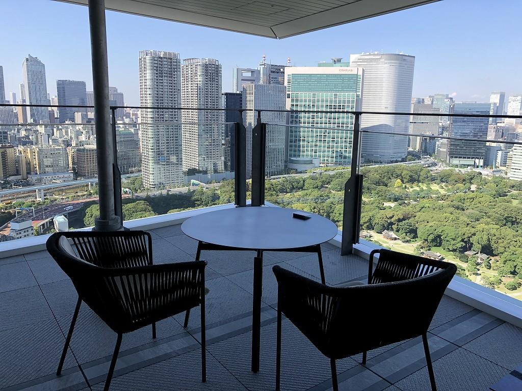 メズム東京「club mesm」からの眺め1