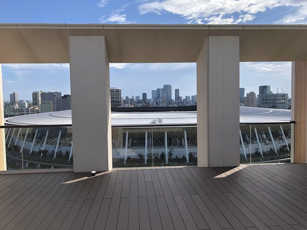 三井ガーデンホテル神宮外苑の杜プレミアの屋上テラス4