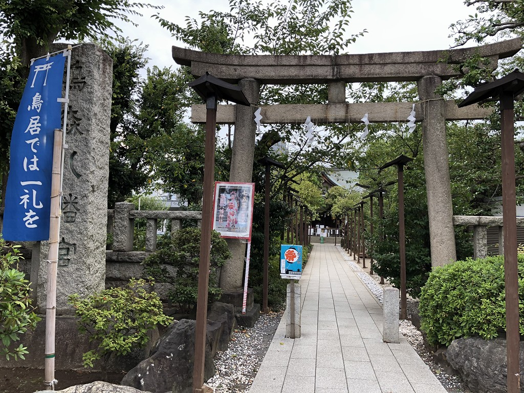 鳩森八幡神社1