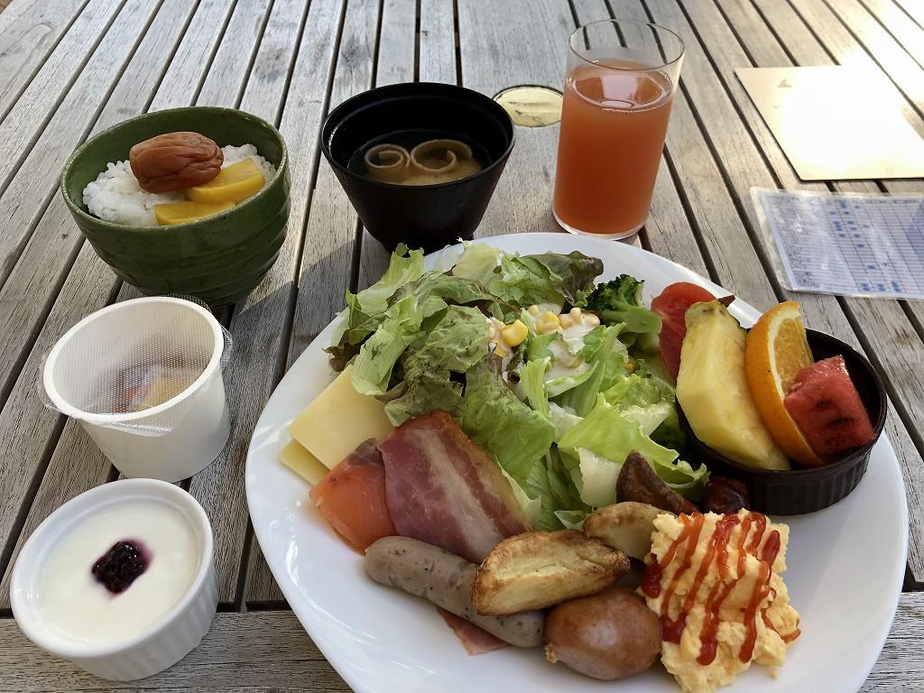 三井ガーデンホテル神宮外苑の杜プレミアのレストランの朝食