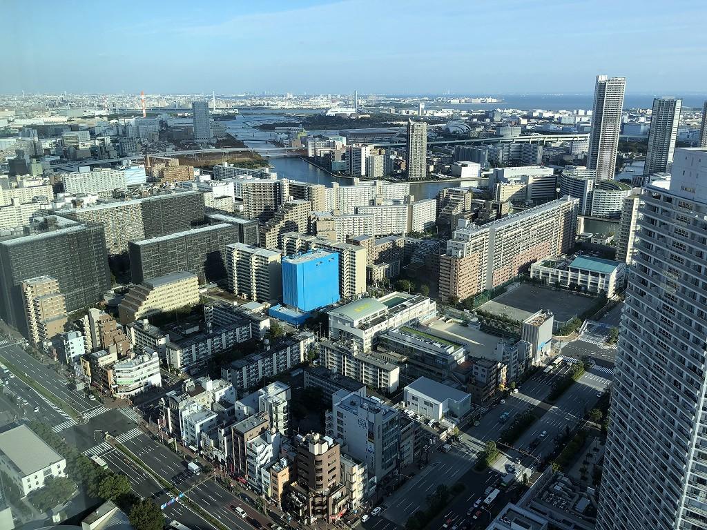 三井ガーデンホテル豊洲ベイサイドクロスから見た高層ビル2