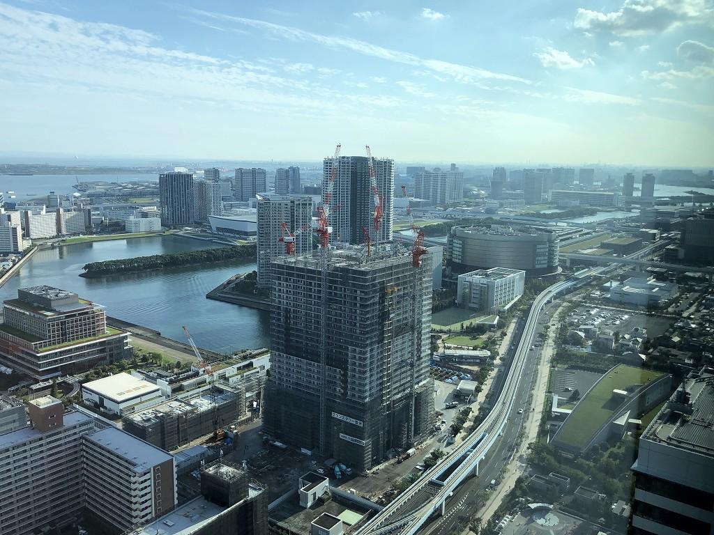三井ガーデンホテル豊洲ベイサイドクロスから見た高層ビル1