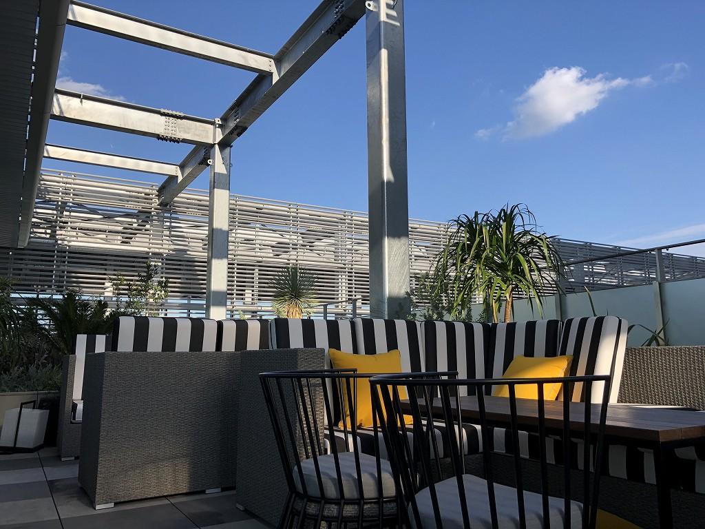 三井ガーデンホテル豊洲ベイサイドクロスのTHE PENTHOUSE with weekend terraceのルーフトップレストラン3