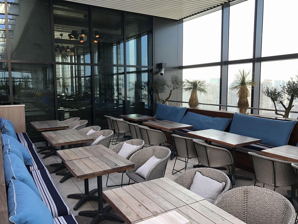 三井ガーデンホテル豊洲ベイサイドクロスのTHE PENTHOUSE with weekend terraceのルーフトップレストラン4
