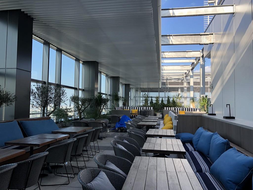三井ガーデンホテル豊洲ベイサイドクロスのTHE PENTHOUSE with weekend terraceのルーフトップレストラン1