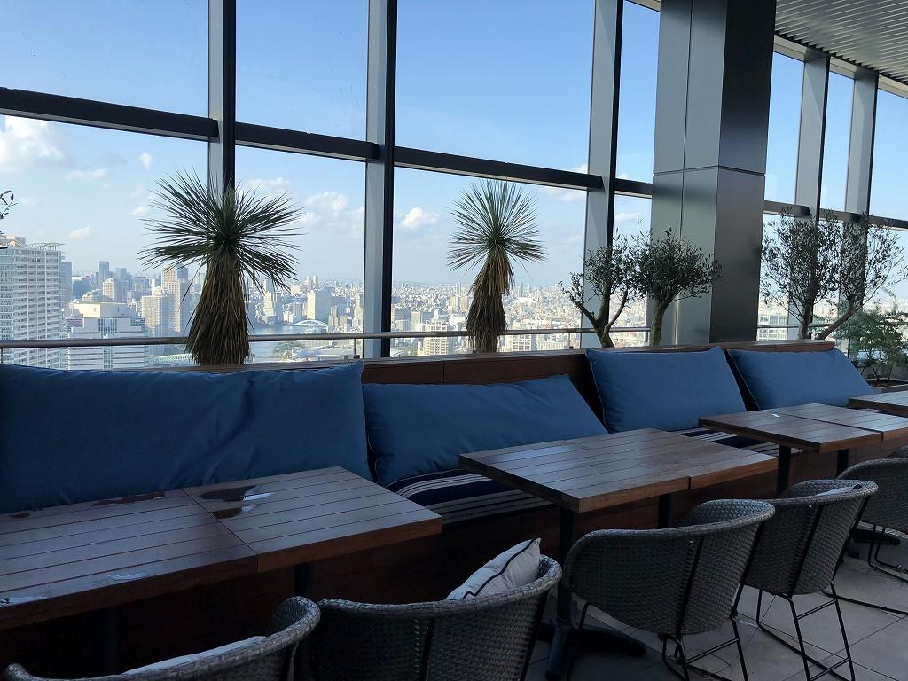 三井ガーデンホテル豊洲ベイサイドクロスのTHE PENTHOUSE with weekend terraceのルーフトップレストラン5