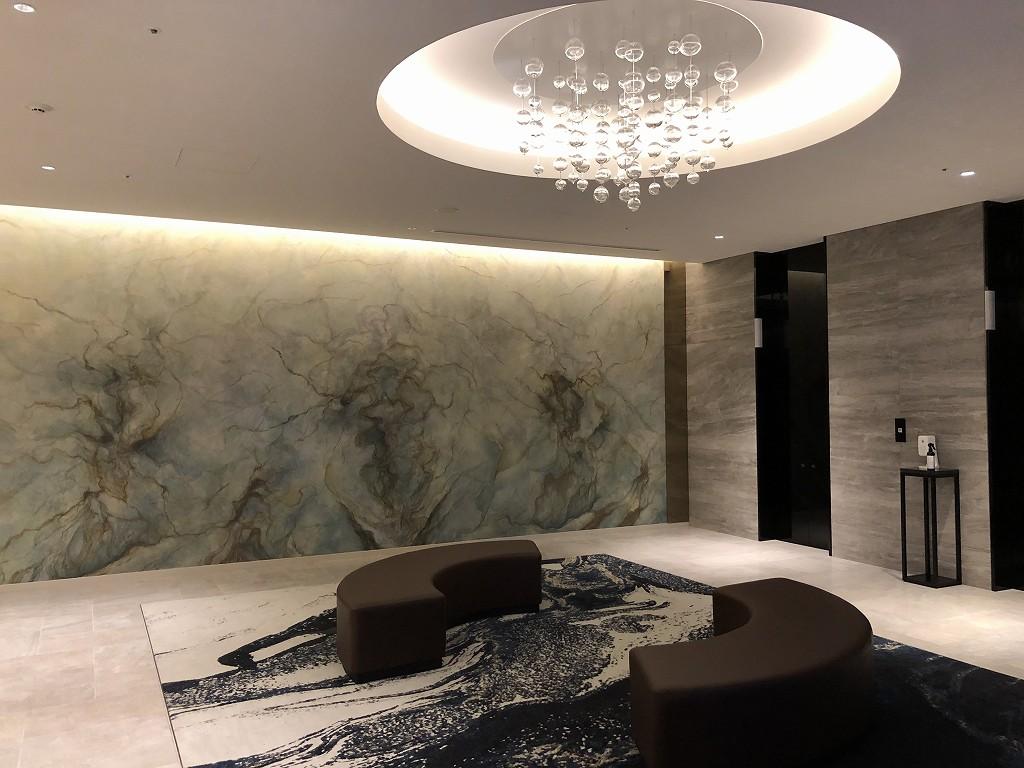 三井ガーデンホテル豊洲ベイサイドクロスのエレベーターホール
