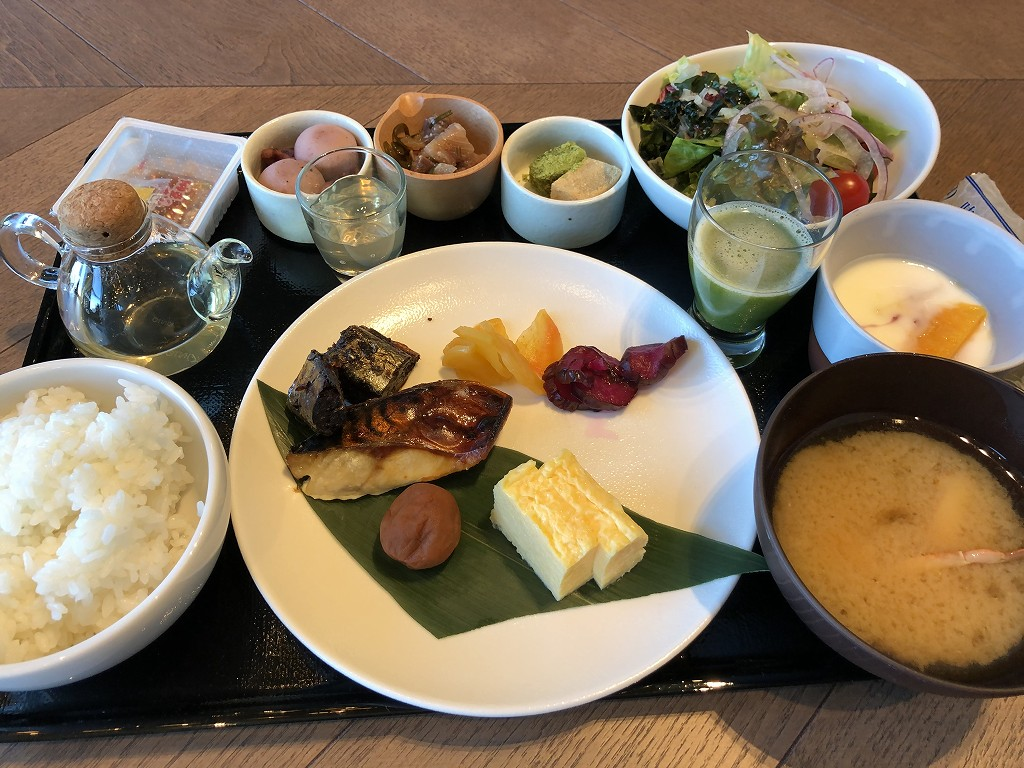 三井ガーデンホテル豊洲ベイサイドクロスの和食