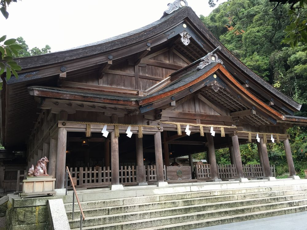 美保神社の拝殿