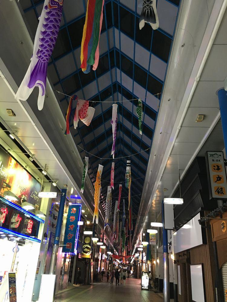 宮崎のアーケード街「一番街」