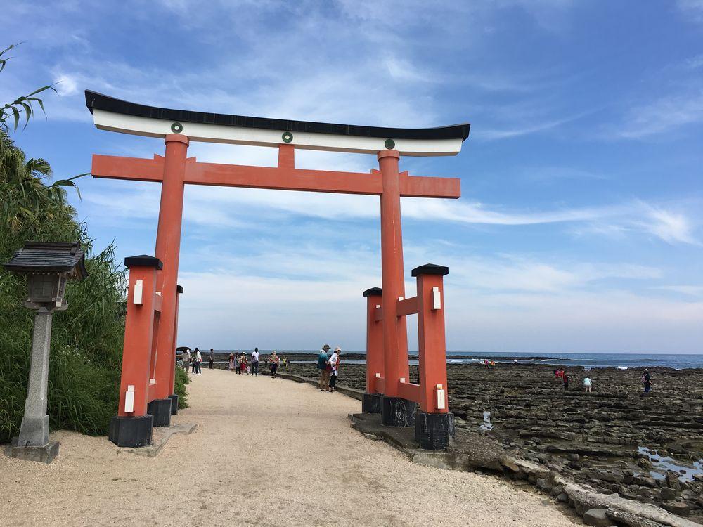 青島神社の鳥居
