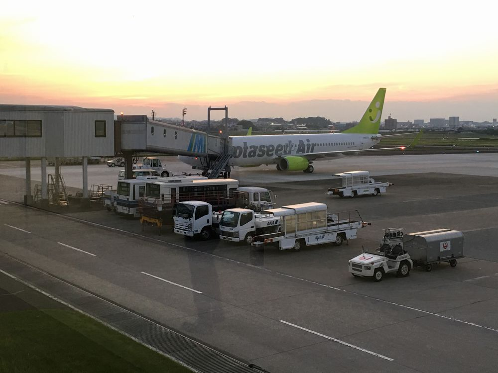 ソラシドエア運航のANA3764便