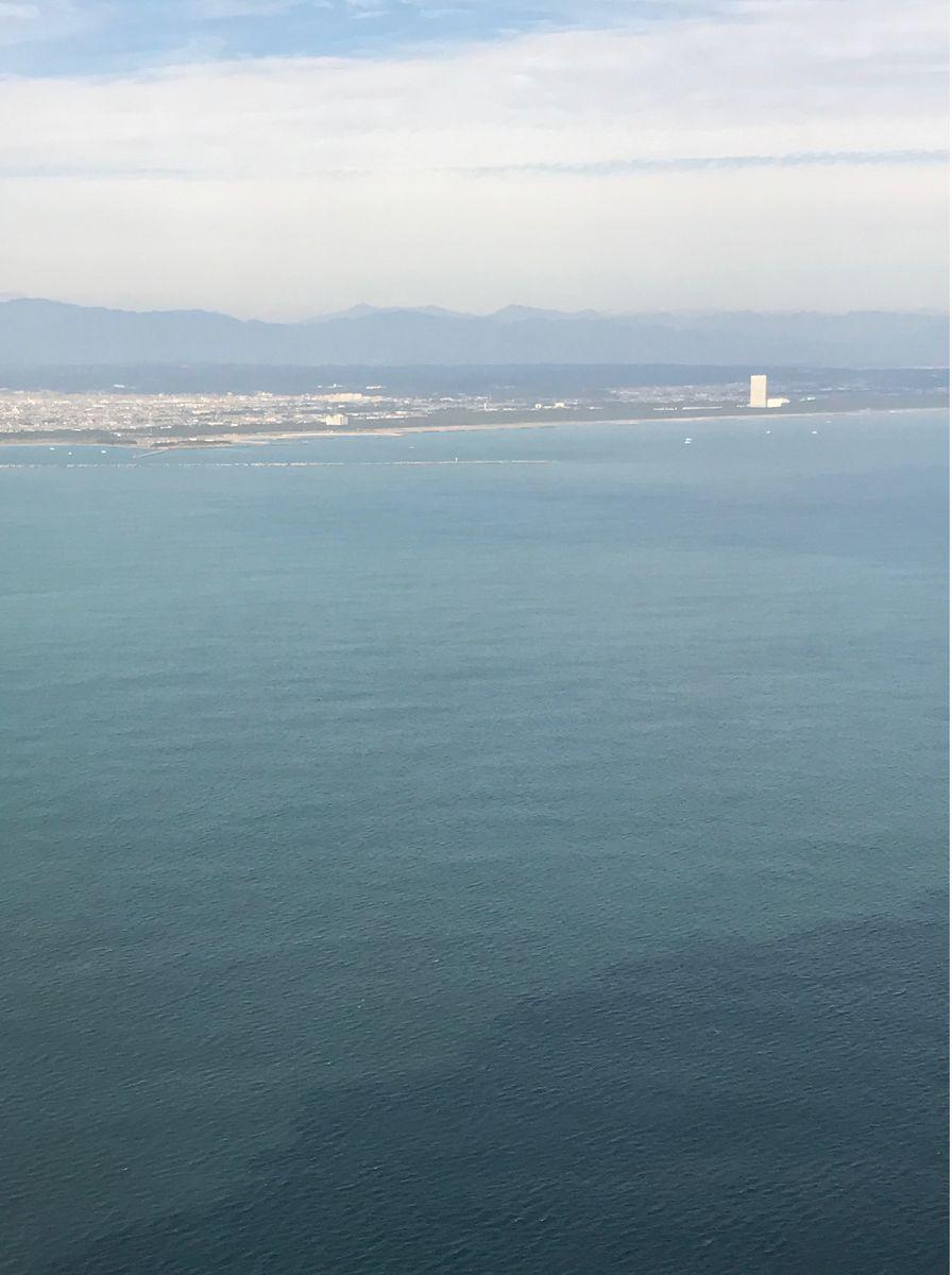 飛行機からシェラトン・グランデ・オーシャンリゾート