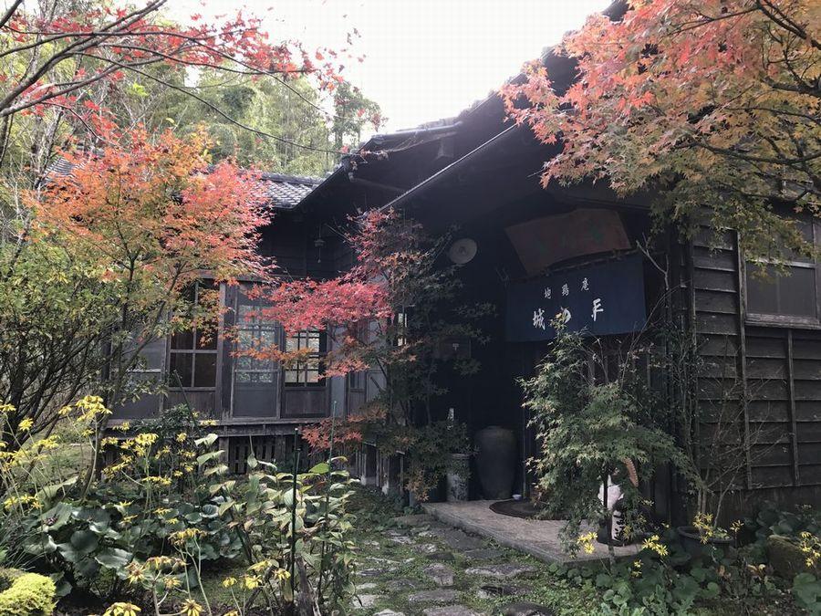 地鶏庵城の平の外観2