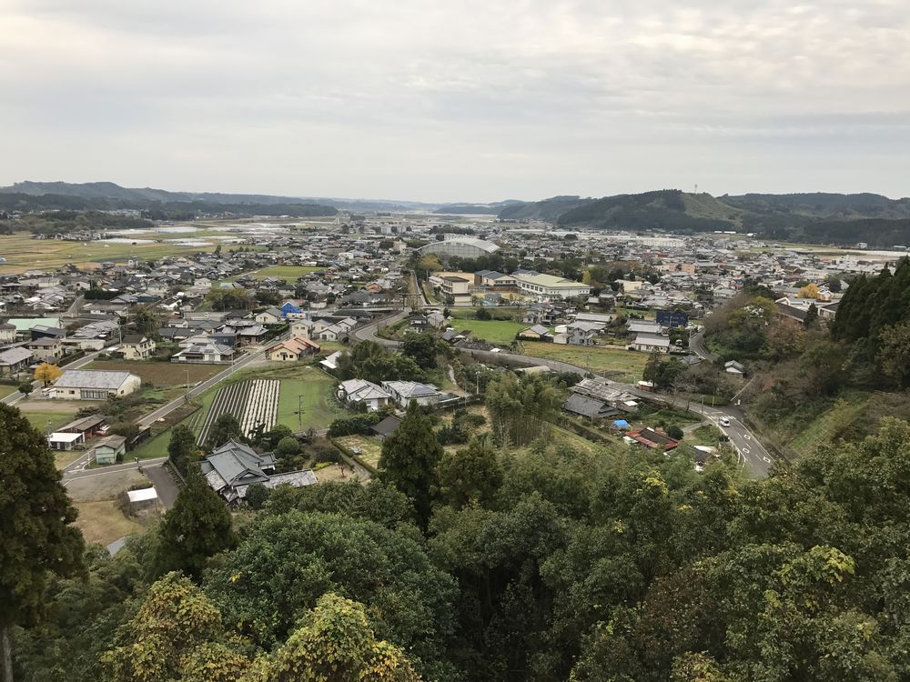 綾城から綾町の市街地