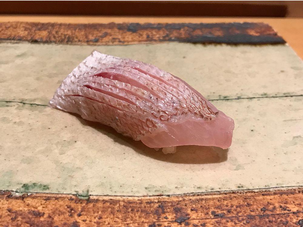 一心鮨光洋の春子鯛