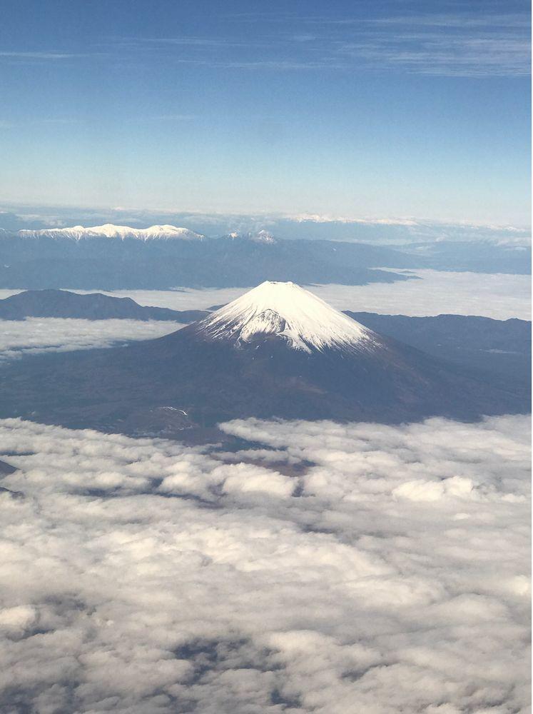 ANA603便から富士山
