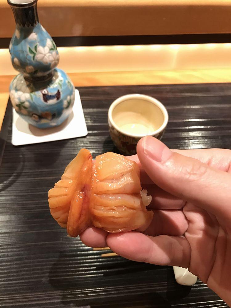 一心鮨光洋の赤貝