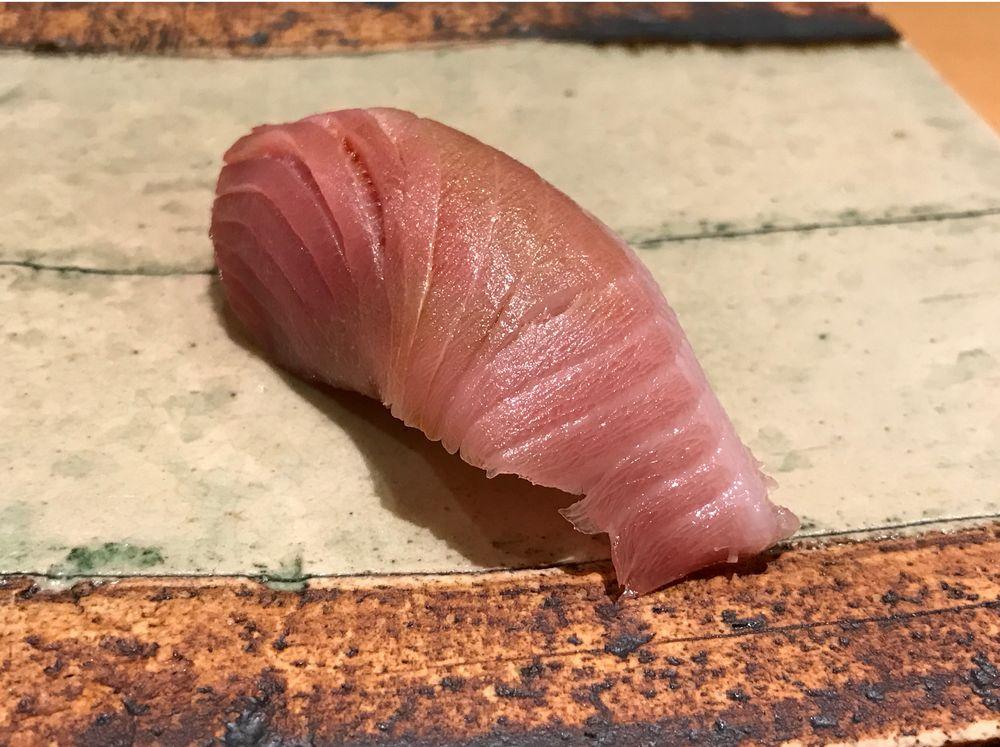 一心鮨光洋のサワラ