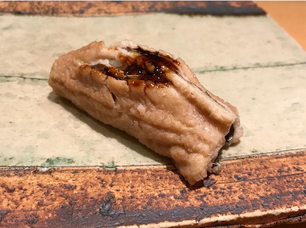 一心鮨光洋のアナゴ
