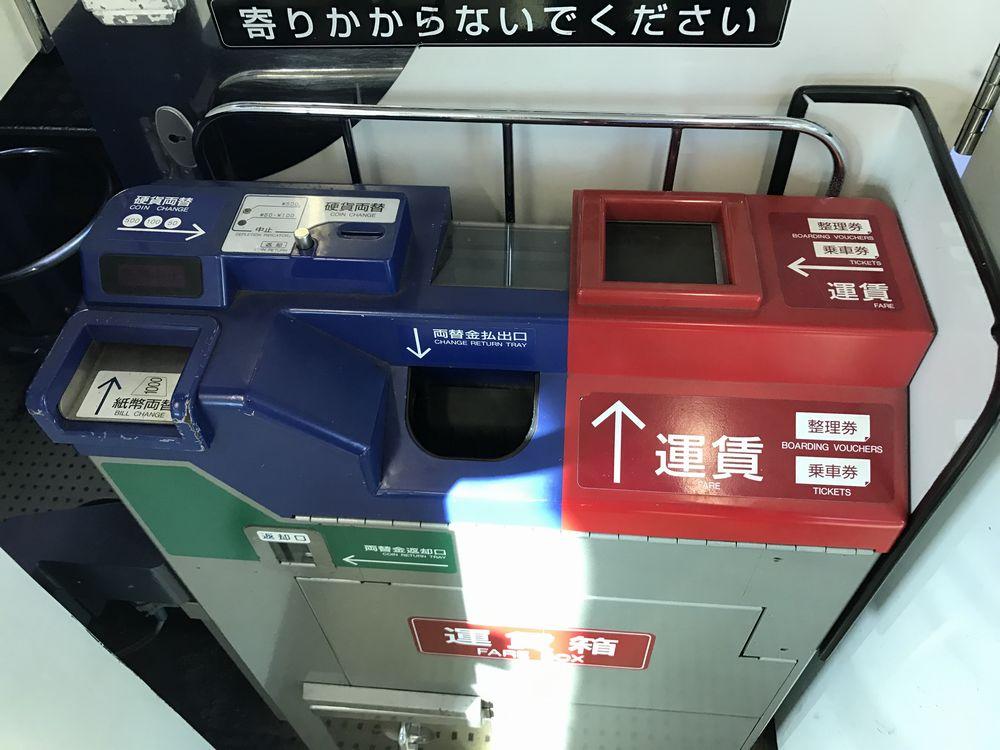 日豊本線の運賃箱