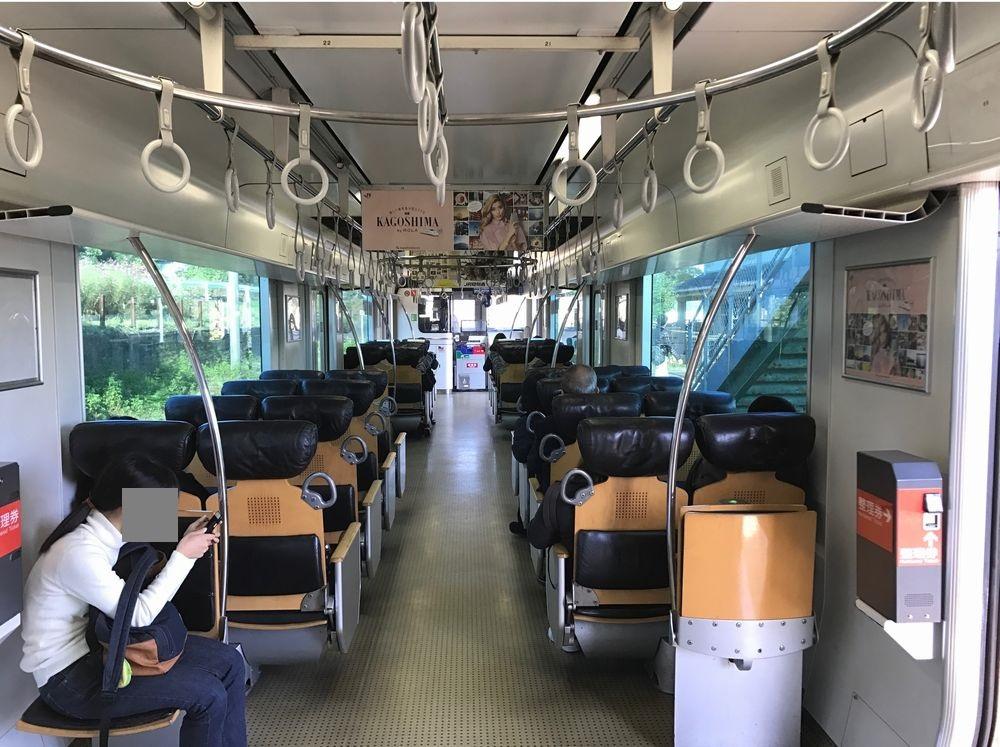 日豊本線の座席配置
