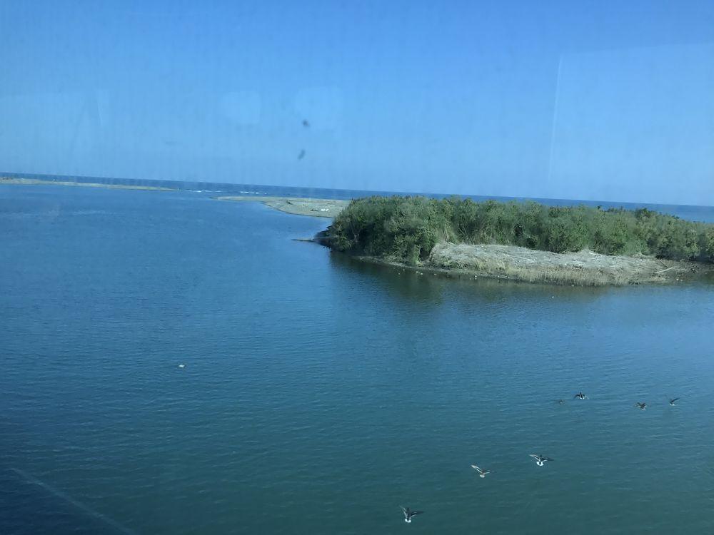 児湯郡高鍋町の海岸