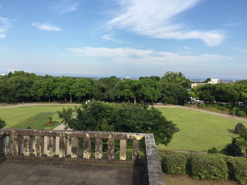 平和台公園からの眺め
