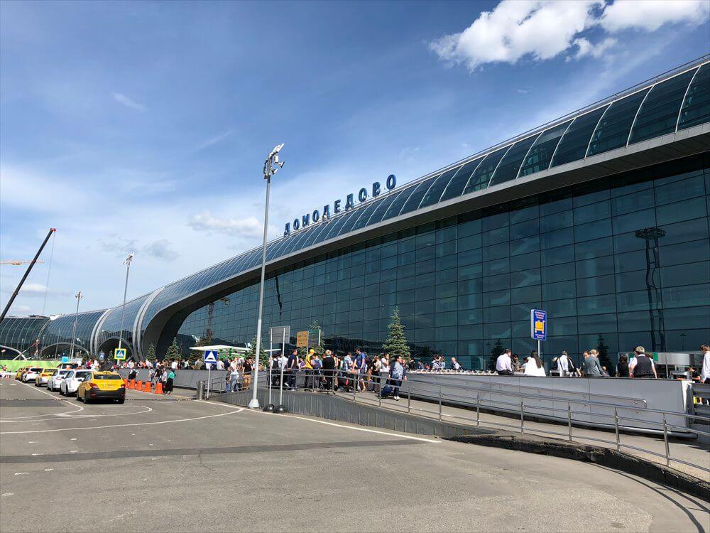 ドモジェドヴォ空港(DME)の外観