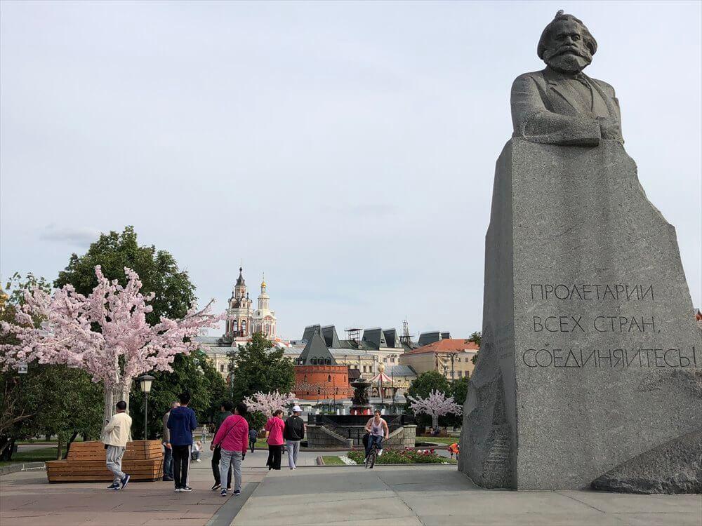 モスクワの革命広場