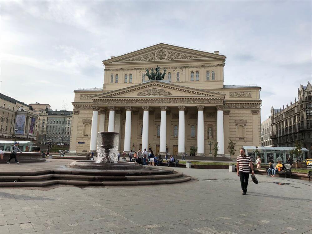 モスクワの劇場広場