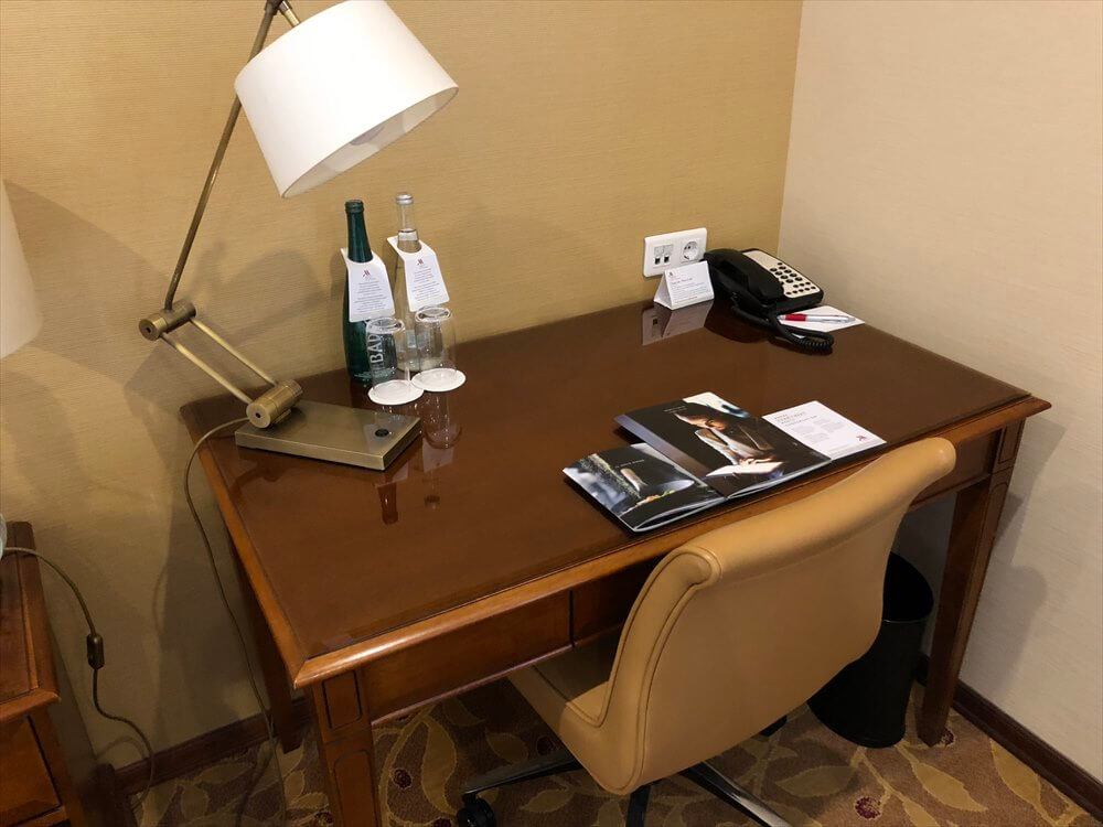 モスクワ マリオット ロイヤル オーロラ ホテルの部屋3