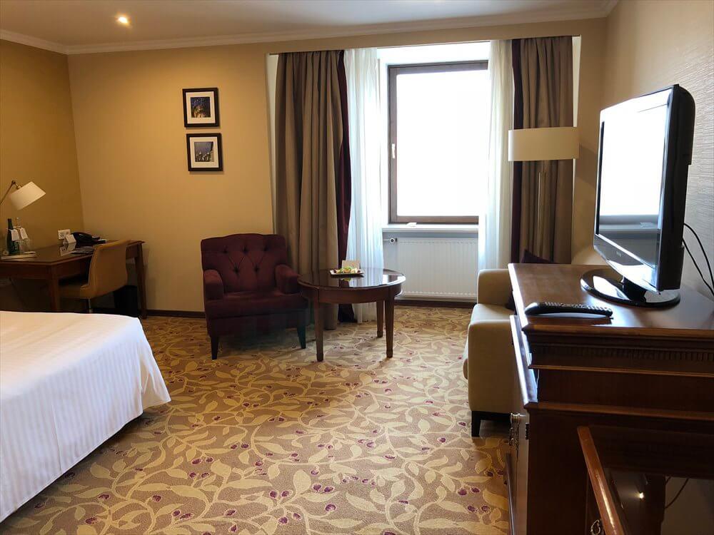 モスクワ マリオット ロイヤル オーロラ ホテルの部屋1