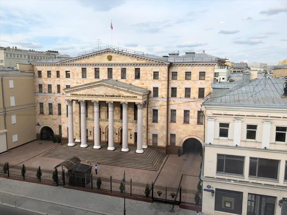 モスクワ マリオット ロイヤル オーロラ ホテルからの眺め