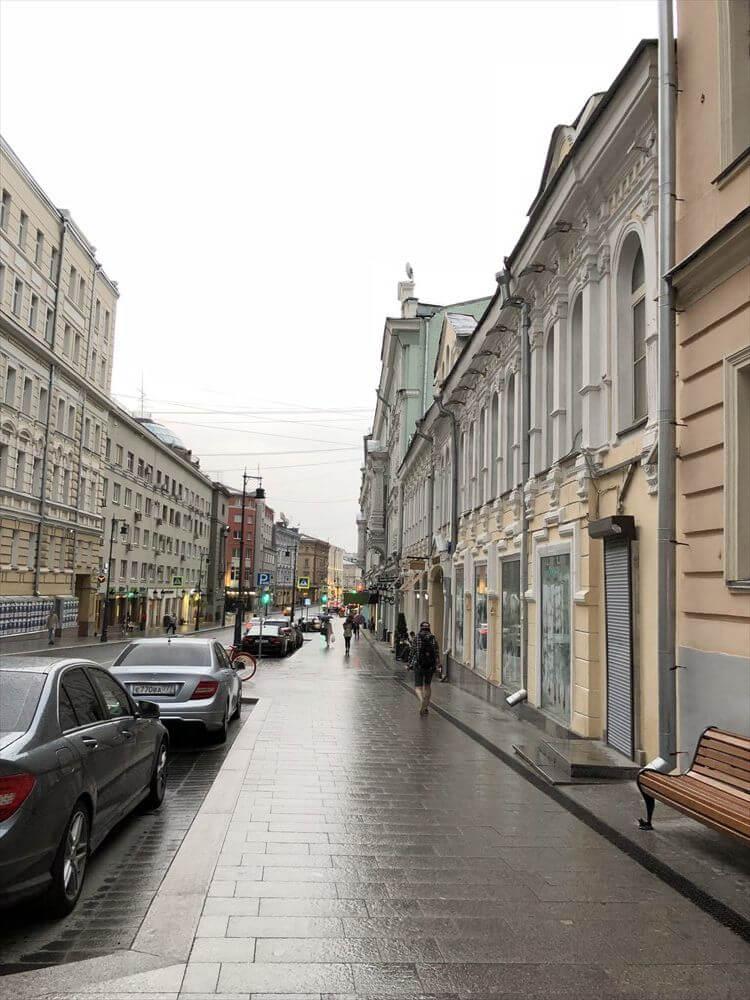 モスクワの街並み(日が長い)