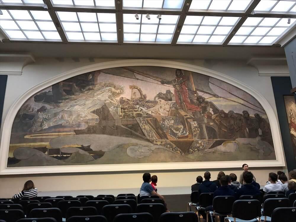 トレチャコフ美術館のミハイル・ヴルーベリの「幻の王女」1