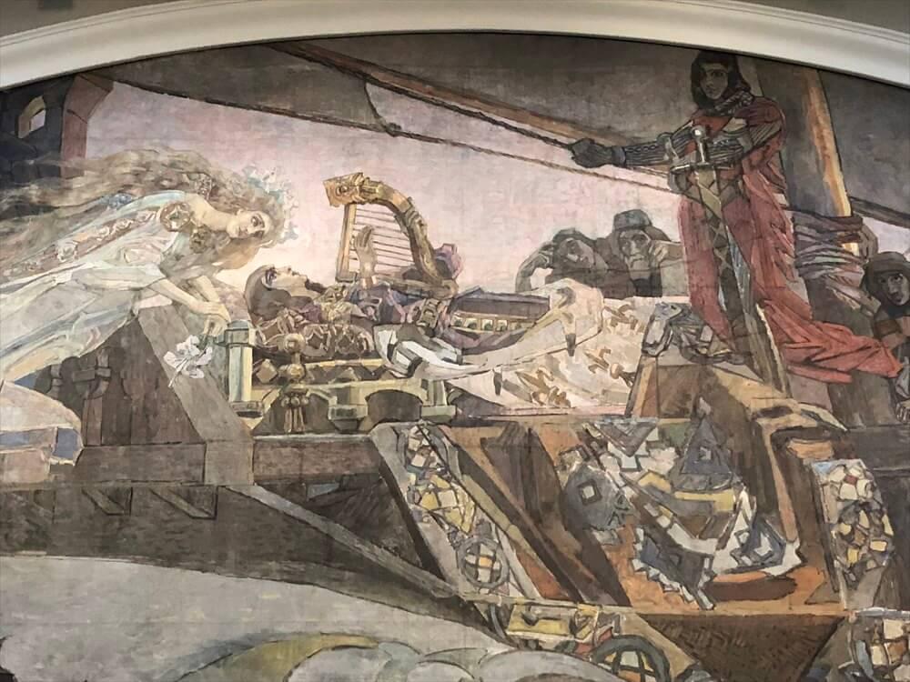 トレチャコフ美術館のミハイル・ヴルーベリの「幻の王女」2