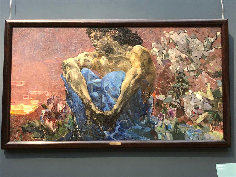 トレチャコフ美術館の「デーモン」